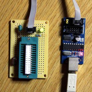 USBtinyISP with ZIFduino